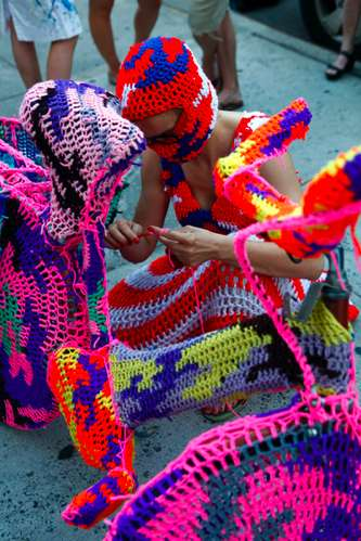 olek knitting is for pus