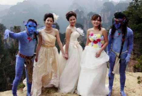 avatar weddings in china
