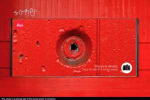 The Leica 'Sharpest Details' Campaign Closes Up on Imperfections