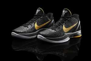 The Nike Zoom Kobe VI Shoes Feature a Slithering Design