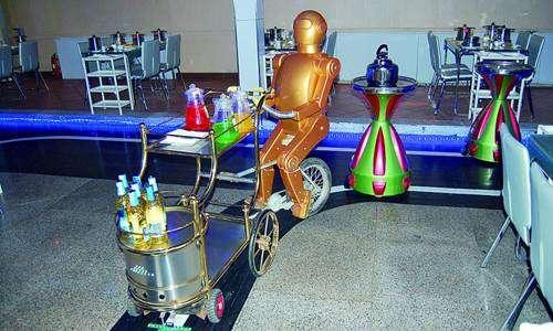 Robot-Run Restaurants