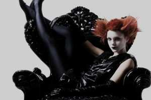 Dusan Reljin Shoots Goth-Glam for the Numero January 2011 Edition