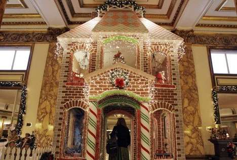 fairmont sf gingerbread house
