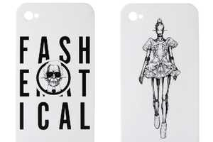 The Gasbook Fashematics iPhone Case Adorns Stylish Caricatures