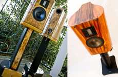 Woodland Sound Systems - The Vapor Audio Cirrus Stand-Mount Speakers Offer Elegance & Clear Sound