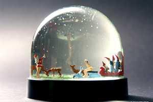 Nisse Landscape Snow Globes Bring the Little Buggers Back