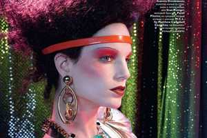Iris Strubegger by Francois Nars Showcases Chaotic Couture