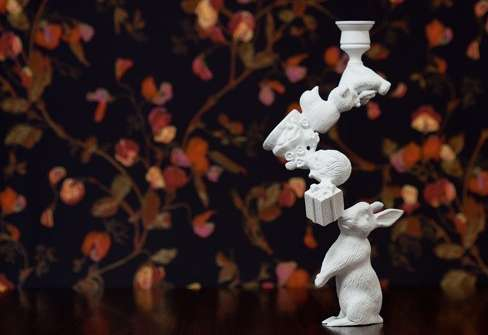 Storybook Candlesticks