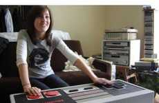 18 NES Controller Inspirations - From 80s Gamer Carpets to Game Controller Furniture