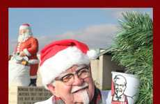 "Fast Food Scavenger Hunts - KFC $20,000 Secret Santa ""So Good"" Campaign Spreads Joy"