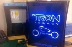 Sci-Fi Gamer Console Cases - The 'TRON: Legacy' Xbox 360 is the Baddest Gaming Box in Town