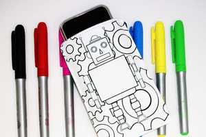 'iPhone Color Your Own Case' Lets You Draw Between the Lines