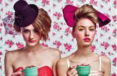 Bold Tea Party Photography - Toronto-Based Photographer Lynsie Roberts Isn't Afraid of Color