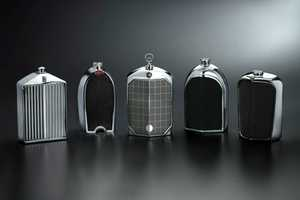 Don't Drink and Drive with the Nicholas Brawer Grille Flasks
