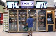 Sobriety-Testing Vendors - The Pronto Wine Vending Machine Only Serves the Sober