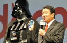 Intergalactic Villain Ads - The NTT Docomo Darth Vader Ad Uses the Force to Sell Phones