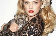 Femme & Feline Covers - Lily Donaldson for Harper's Bazaar is Both Fierce and Fetching