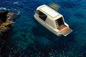 The Gambo Design 'Thansadet' is Your Home on Land or Water