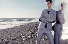 By-the-Seashore Looks - Nikolaj d'Etoiles Spring Lookbook is a Stunning Set of Beachy Photos