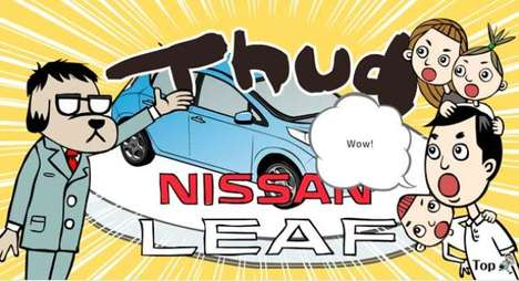 Nissan Leaf Kid-s Site