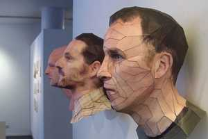 Bert Simons' 3D Paper Portraits Reflect his Artistic Skills