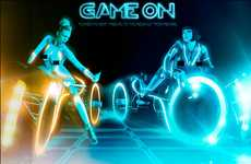 Hot Sci-Fi Tributes - The Playboy TRON Spread Pits One Naked Playmate Against Another