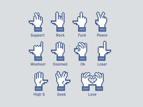 Shocking Sign Language Tees - The Controversial Social Hands Tee is Silently In-Your-Face