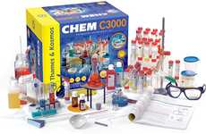 Chemistry Experiment Kits - The Chem C3000 Set Offers an Advanced Scientific Experience