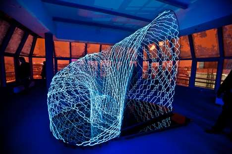 Interactive Light Exhibitions - 'Yota Space' Showcases Technological Art