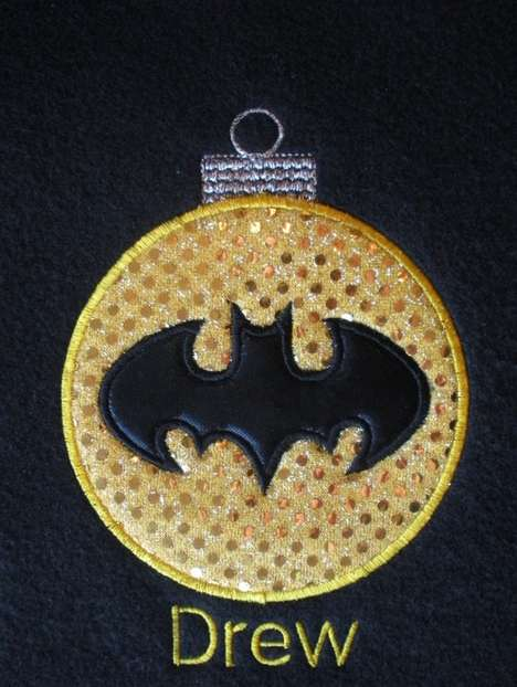 Bat Dude Holiday Ornament