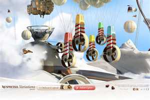The Nespresso Variations 2010 Campaign Creates a Coffee Playland