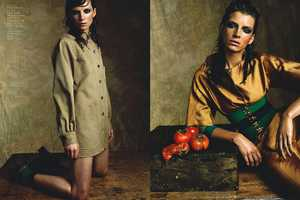Toni by Stefano Moro Mixes Bold Organic Color with Beige