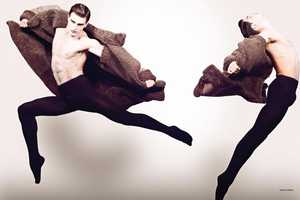 Diego Miguel and Adrian Cardoso Are a Fashionable Dancing Duo