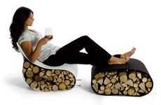Flexible Firewood Furnishings