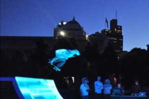 ENESS Skaters Get Futuristic at the Tron Legacy Premiere