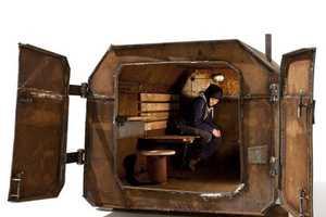 Atelier Van Lieshout Creates a Compact Bomb Shelter