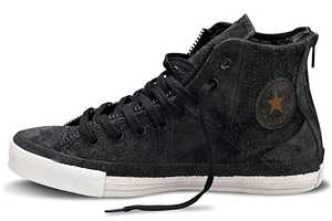 The Converse and Schott Chuck Taylor 'Leather Jacket' Sneaker