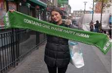 Tweeting Charity Scarves - Twitter Knitter Uses Social Media to Keep the Cold & Needy Warm