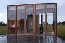 Glassy Off-the-Grid Villas