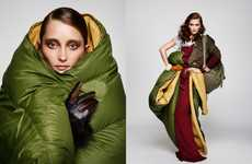 Sleeping Bag Princesses - Iekeliene Stange AvantGarde Magazine Editorial Features Couture Covers