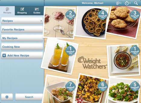 Healthy Diet Apps - Weight Watchers Kitchen Companion is Your Digital Sidekick to Eating Healthy