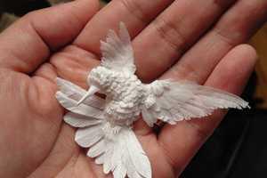 Cheong-ah Hwang Creates Intricate Handcrafted Paper-Cut Art
