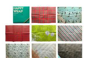 Hemlock Printers 'Happy Wrap' Was Custom-Made by Turnstyle