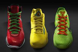 Nike Basketball Christmas Shoes are Festive and Fun