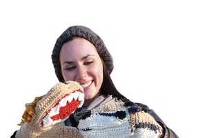 Hoopla's Mittens Put the Fun into Winter