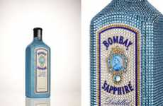 Bedazzled Liquor Bottles