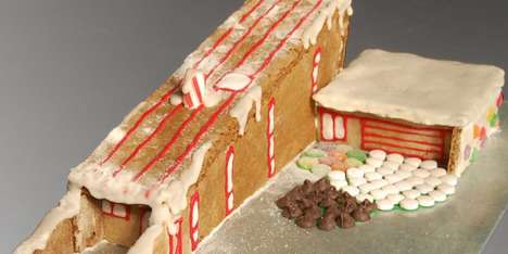 Hometta Gingerbread Wedge House