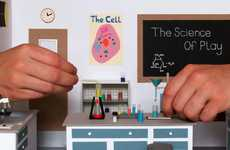 Miniature Science Labs - The Science of Play Diorama by Kyle Bean is Tons of Fun