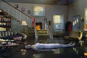 Gregory Crewdson Shoots In-Home Floods and Gardens