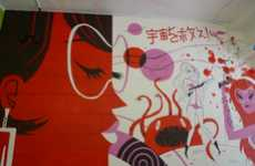Pop Culture Store Murals
